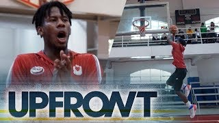 NCAA UPFRONT: Learn to dunk like baby beast CJ Perez of the LPU Pirates