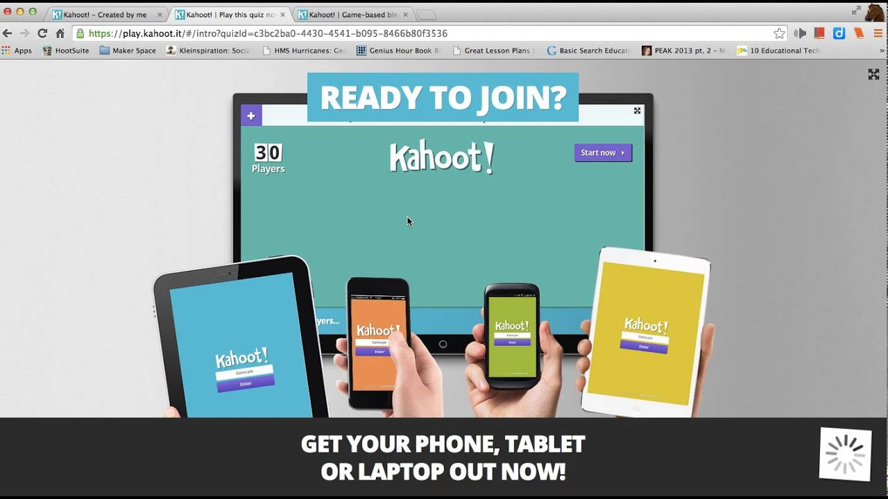 Moving  Play a game of Kahoot! here Kahoot! is a free