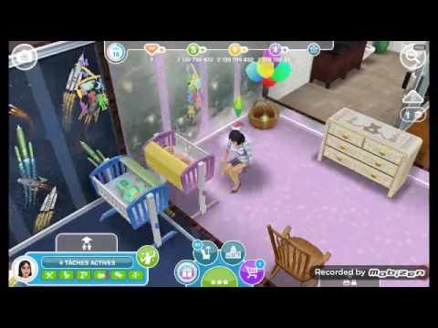 Sims freeplay:la quête des bambins