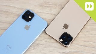 iPhone 11 Max Rear Camera Layout Confirmed By Leaked Olixar Camera Protectors