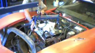 EVVette Weekend 2 Engine & Transmission Removal #5 View 1