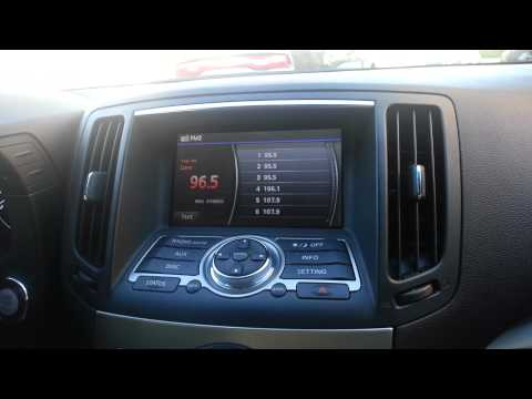 nav tv ntx nissan / infiniti add touch screen garmi