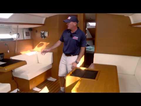 Offshore Sailing School - Tour a Cruising Boat Interior