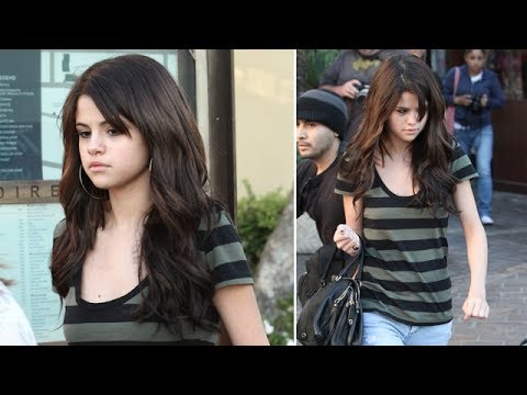 Selena Gomez Asked About Miley Cyrus Bong-Hit Video At The Grove [2010]