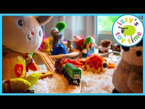INCREDIBLE THRIFT STORE FIND! Thomas and Friends Fun Toy Trains for Kids WITH STUFFED ANIMALS