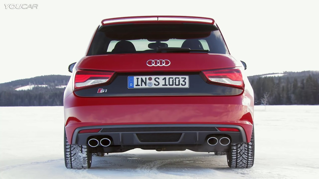 new audi s1 awesome test drive on snow youtube. Black Bedroom Furniture Sets. Home Design Ideas