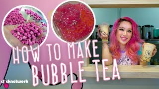 How Bubble Tea Is Made (Boba Tea/Pearl Tea) - Xiaxue's Guide To Life: EP219