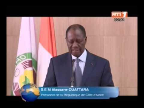 RTI-Retour du président Alassane Ouattara de Dubaï