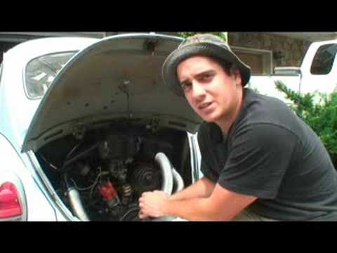 Classic VW Beetle Bug Restoration How To Tip Engine Seal