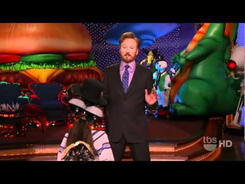 Conan 12/21/2010 - Robo-Rebbe