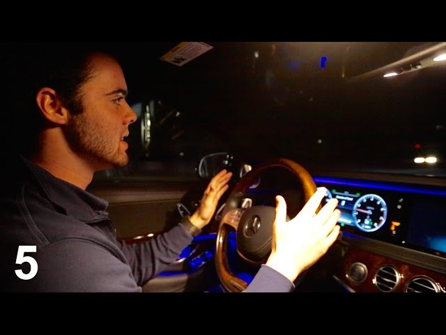 5 Things You Didn't know About The 2015  Mercedes S550!