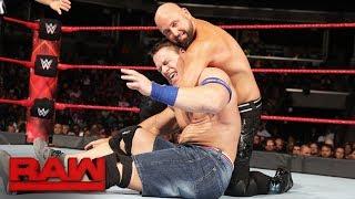 John Cena & Roman Reigns vs. Luke Gallows & Karl Anderson: Raw, Aug. 28, 2017