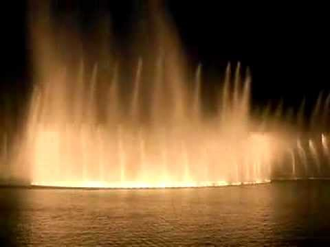 Burj Dubai Dancing Fountain