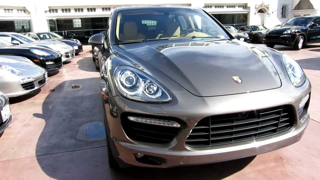 2011 Porsche Cayenne Turbo Umber Metallic Luxor Beige Low
