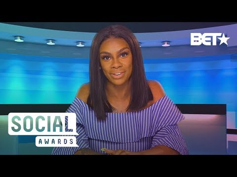 Jess W/ The Mess Salutes The Shade Room For Always Spilling Tea | BET Social Awards