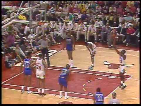 MICHAEL JORDAN: 46 pts vs Detroit Pistons (1989 Playoffs-Game 3)