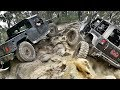 American 4x4 Trucks in Oz - Hummer vs Jeep - Nitto Challenge