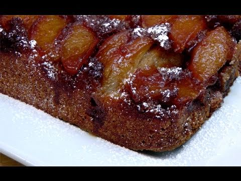 Caramel Apple Upside Down Cake Recipe – by Laura Vitale – Laura in the Kitchen Ep. 84