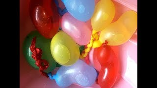 The Colorful Balloons Playing | Balloon Shows For Kids | Balloon  Popping Show By Amit Toy TV