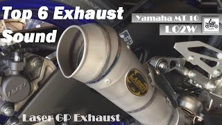 Top 6 Full Exhaust Sound Yamaha MT-10 / Akrapovic, Laser GP, Pipewerx, Remus, Scorpion Exhaust...