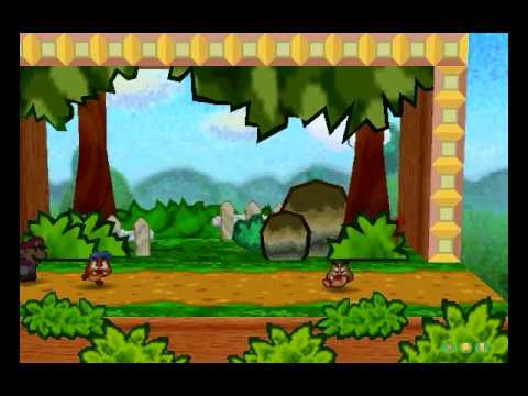 Paper Mario (BLIND) playthrough part 4: Battles
