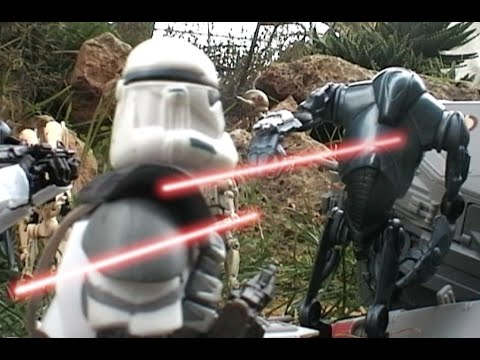 STAR WARS Clones vs. Droids. 1:20. It's a simple clone wars battle.