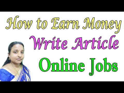 How to Earn Money by Online Typing or Article Writing Jobs in Tamil