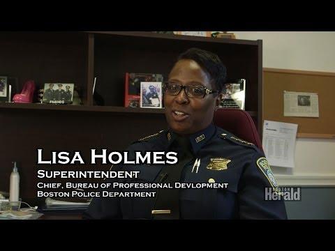 Boston Police Woman Superintendent Lisa Holmes Profiled