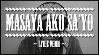 Watch Curse One Masaya Ako Sayo video