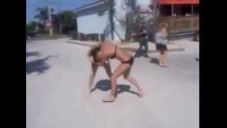 Nasty Beach GIRL Fight