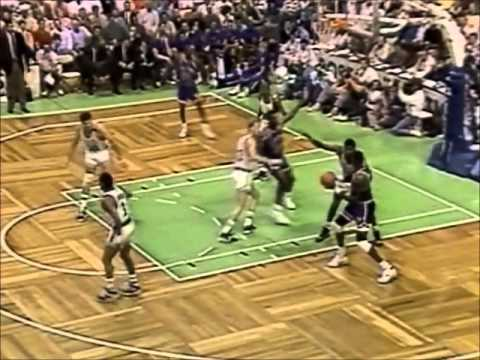 Patrick Ewing: Leading the Knicks over Bird and the Celtics (31 points, 1990 Playoffs)