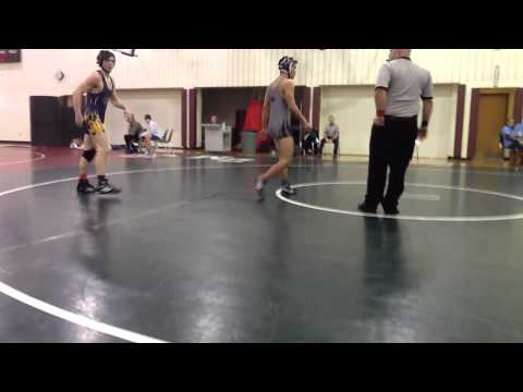 John Handley High School Individual Wrestling Tournament - Saturday, 18th January 2014 - Round #2