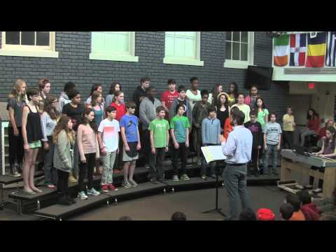 "Edmund Burke School's Middle School Chorus - ""The Moon"""