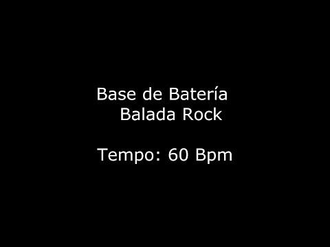 Base de Batería - Balada Rock