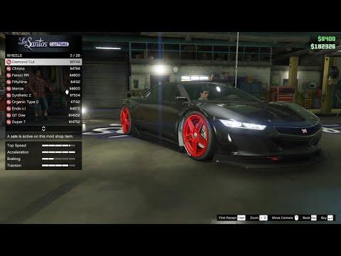 Siêu Xe Trong GTA V Tập 8 Siêu xe Dinka Jester