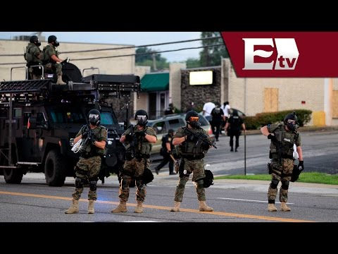 Disturbios en Missouri, EU, tras el asesinato de joven afroamericano/ Global