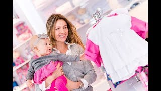 Funny Baby Go Shopping First Time - few minutes with cute baby