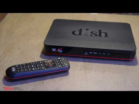 Introducing the Wally. DISH's Newest Mobile Satellite Receiver