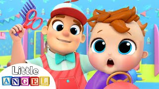 Baby's First Haircut | Nursery Rhymes and Kids Songs by Little Angel