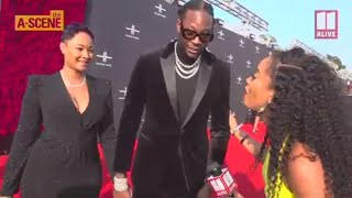 2 Chainz at Tyler Perry Studios grand opening