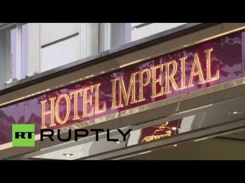 Austria: Steinmeier and Zarif arrive for Syrian conflict talks in Vienna