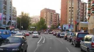 Kosovska Mitrovica / Auto kamerom
