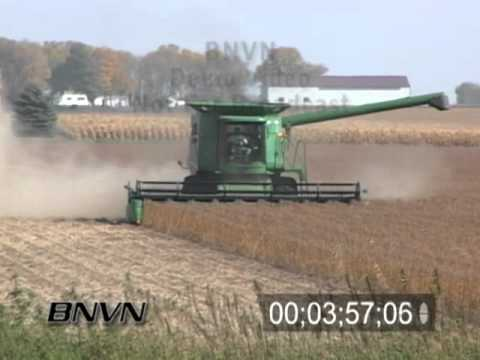 Farmers Harvesting, Fall 2006 B-Roll Footage