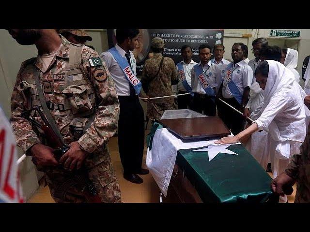 Funeral held for 'Pakistan's Mother Teresa'