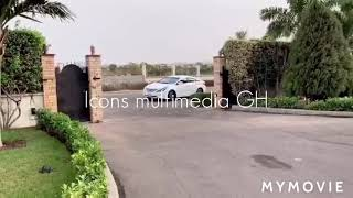 WOOW 😍😲 OH MY GOD ADEBAYO SURPRISED FUNNY FACE WITH A 😋 HUGE WHITE PORSCHE CAR 🥰