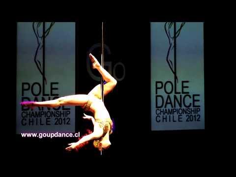 PALOMA SCHNEIDER POLE DANCE CHAMPIONSHIP CHILE 2012