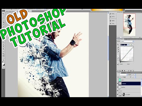 How to create dispersion effect with Photoshop - we ar