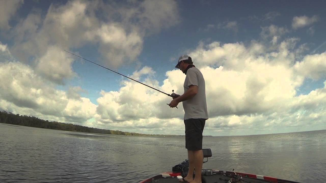 Fishing Bedding Bass with Kevin Van Dam