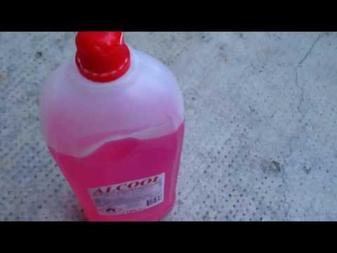 come fare un razzo con alcol etilico ( fai da te ) semplicissimo.