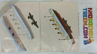 Hướng dẫn lắp ráp Sluban M38-B0577 Lego Creator MOC Titanic ShipBoat giá sốc rẻ nhất